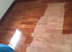 木地板翻新处理要注意 并不是所有地板都可以翻新