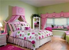 女生房间装修设计要注意哪些 圆了你的公主梦
