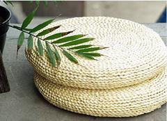 草编坐垫材质有哪些 材质不同体验也不同