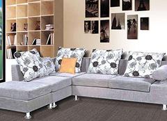 布艺沙发有哪些材质选择 想要装饰好还得靠保养