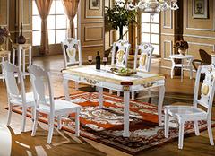 欧式风格选择欧式餐桌 多种材质任君挑选