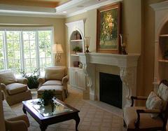 家居客厅墙面装修的攻略剖析 排场大气华丽
