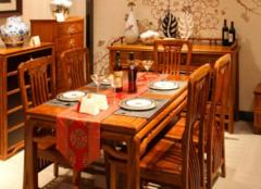 餐厅家具怎么保养才对 为你营造舒适的用餐环境