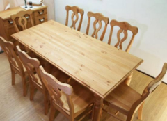 松木餐桌好在哪些方面 全家人用餐更愉快