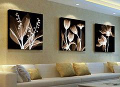 简析客厅墙面运用装饰画的装饰妙招 赶紧收藏