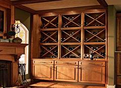 常见美式酒柜的造型有几种 让饮酒成为一种文化