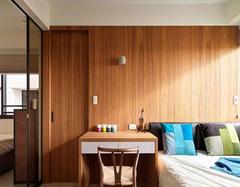 巧用隐形移门分隔卫浴间区域 节省空间美观两不误