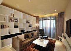  常见客厅储物柜材质有哪几种 不同材质展示不同风姿