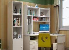 儿童转角书柜怎么选才对 为孩子打造不一样的儿童房