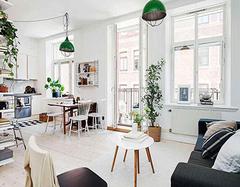 北欧风装修案例欣赏 寡淡的颜色也能这么舒服