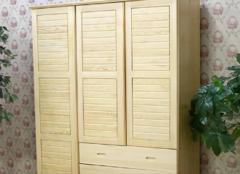 松木衣柜怎么清洁才对 让衣服的家更干净
