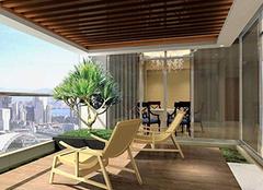 阳台装修也要注意规划 为你打造私人花园