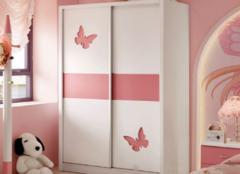 不同颜色儿童衣柜有什么作用 对孩子好才是真的好