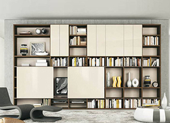 如何选择家中的书柜 装饰实用都不能少