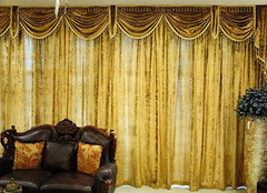 欧式窗帘的分类解析 打造华丽家居
