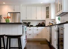 厨房墙砖与橱柜清洁保养 饭菜美味健康的保障