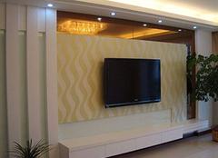 搭配装修客厅背景墙 为室内装修增添异彩