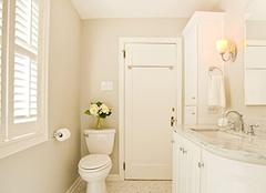 装修卫生间不仅要看装饰 严把质量关才是关键