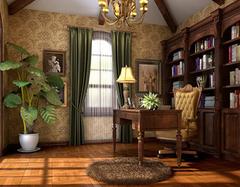 揭秘书房装修要注意的原则有哪些