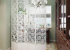 客厅屏风隔断墙设计技巧大揭秘