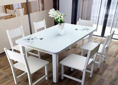 选购家用餐桌有哪些注意点 别轻视了