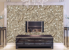 电视背景墙墙纸挑选锦囊 让客厅更加有特色