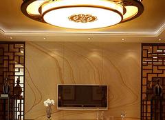 选择适合客厅的吸顶灯尺寸 采光和装饰都不能落下