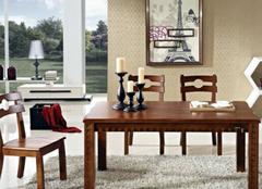 实木餐桌选择的三大要素  吃饭也能增感情