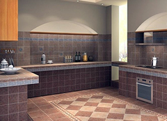 厨房瓷砖颜色搭配小锦囊 就是这么实用