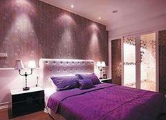 紫色房间的配色技巧 来看优雅典范