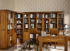 实木转角书柜挑选知识 原来这么有讲究