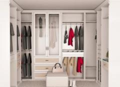 打造步入式衣柜要考虑什么问题 让卧室布局更协调