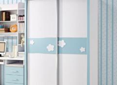 儿童衣柜怎么配色比较好 给孩子一个舒适的视觉感