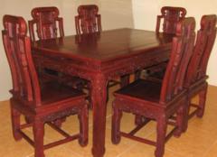 红木餐桌椅好在哪些方面 古典家居风格的完美点缀