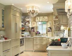 厨房装修设计布置要求 灯光布置不要忘