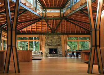 木房子装修有哪些注意点  好看也讲方法