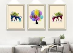 室内装饰画怎么摆放 让家居环境更显档次