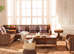 如何搭配选购藤制家具 装点家居中式美