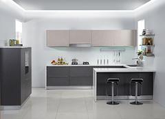 盘点常见的橱柜门板材质 厨房视觉盛宴