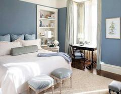 卧室墙面颜色搭配小知识 内行人的门道