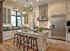 厨房装修选材的三个小技巧 你做到了吗?
