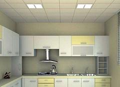厨房集成吊顶需要哪些材料 五种缺一不可