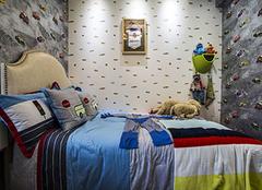 儿童房铺贴壁纸的流程 一起DIY