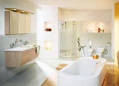 浴室装修的重点工作 底部顶部都不要忽视