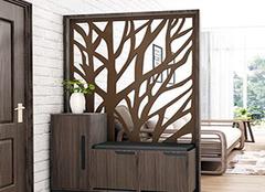 玄关隔断设计的位置选择 选对位置提升居室格调