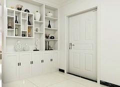 进门玄关鞋柜选购策略 选出合适玄关家具