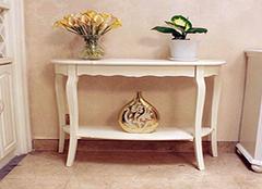 欧式玄关桌保养方法介绍 让家装整齐更美观