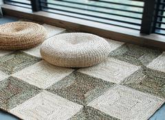 草编地毯有哪些优缺点  家用地毯选购需知