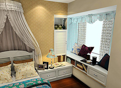 如何为家中飘窗选择窗帘 实用美观都不能少