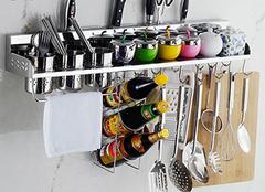 厨房用品置物架安装须知 轻松做好厨房收纳